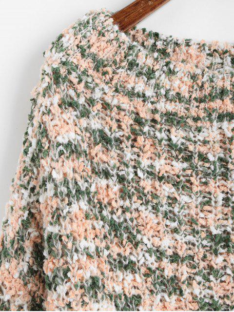ZAFUL Camisola de Onda Raglan com Contraste - Multi M Mobile