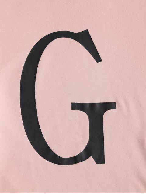 ZAFUL字母圖形雙色抽繩兩件套 - 多-A L Mobile