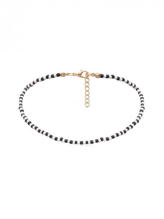 簡約串珠項鍊 - 多-B