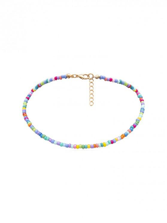 Collier Simple Perlé - Multi-A