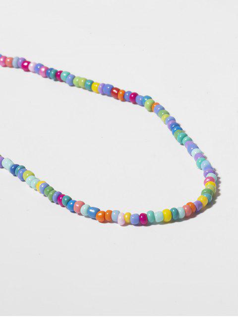 Collier Simple Perlé - Multi-A  Mobile
