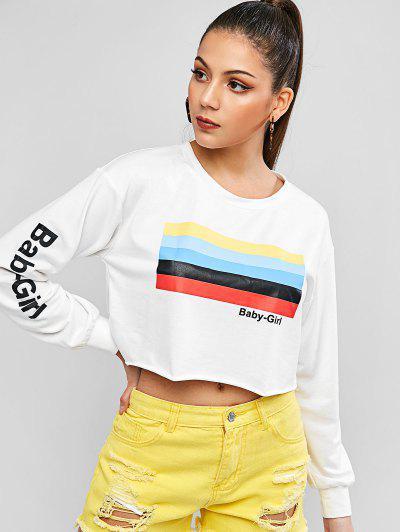 Image of Baby Girl Graphic Sweatshirt