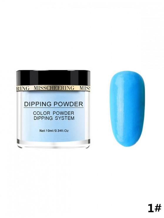 lady 10ML Nail Decoration Fluorescent Powder - DODGER BLUE