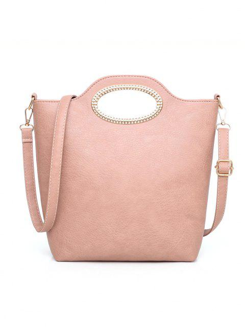 unique 5Pcs Casual Tote Bag Set - LIGHT PINK  Mobile
