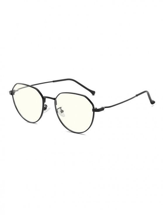 best Brief Metal Anti Blue-ray Glasses - BLACK