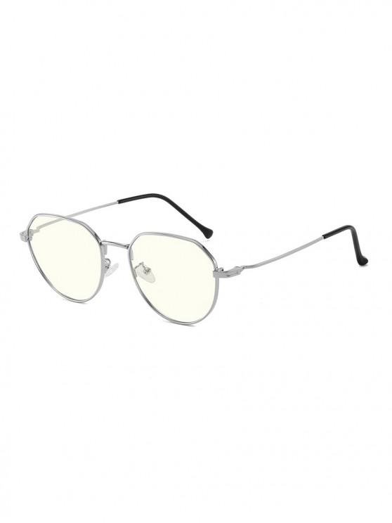 lady Brief Metal Anti Blue-ray Glasses - PLATINUM