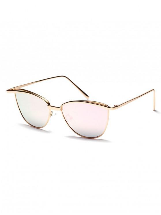 best Alloy Frame Sunshade Sunglasses - LIGHT PINK