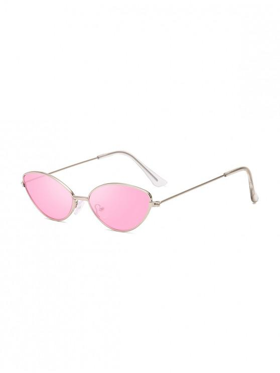 shops Metal Small Catty Eye Sunglasses - PINK