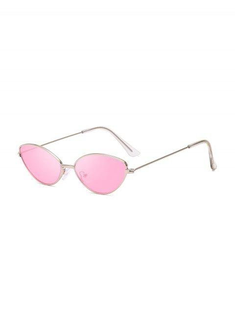 shops Metal Small Catty Eye Sunglasses - PINK  Mobile