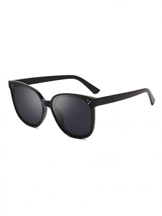 women Unisex PC Full Frame Sunglasses - BLACK