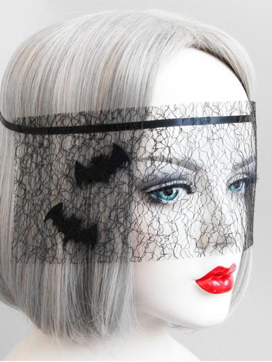 De Fête Masque Tulle BatNoir Halloween HD9IEW2
