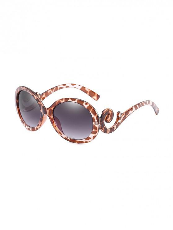 Gafas de Sol Ovaladas Protección UV - Leopardo