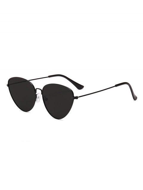 Солнцезащитные Очки Треугольник Сплав оправа Глаз катти - Черный угорь  Mobile
