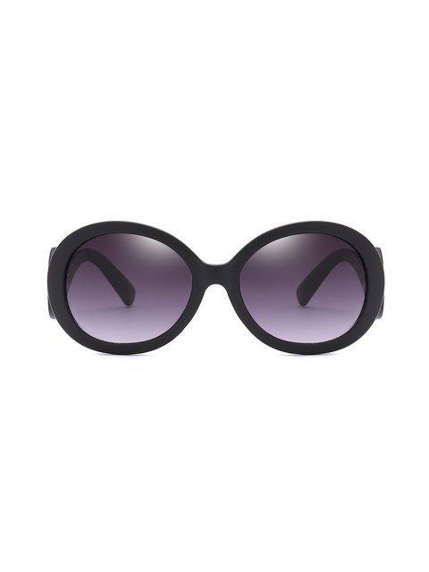 防紫外線螺旋寺橢圓形太陽鏡 - 黑鰻魚  Mobile