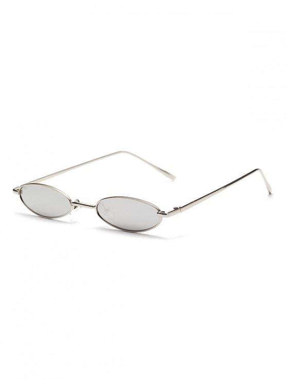 ladies Oval Design Outdoor Sunglasses - CRYSTAL CREAM