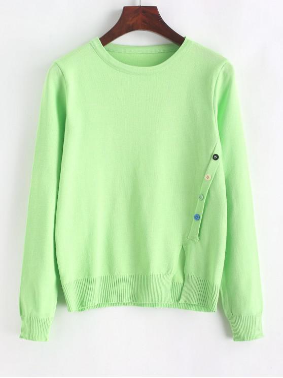 Пуговицы для украшения Передний разрез Трикотаж - зеленый Один размер