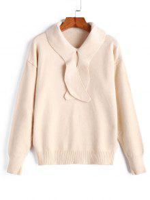 Drop Shoulder Pullover Sweater