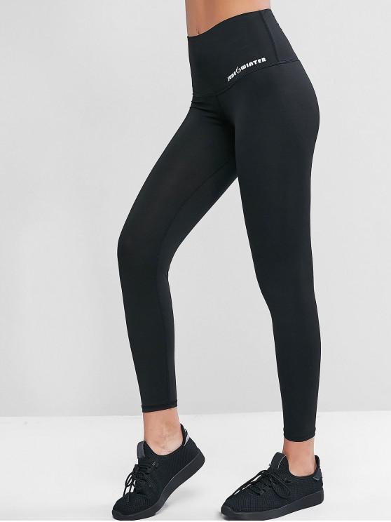 best Active Heathered 7/8 Leggings - BLACK M