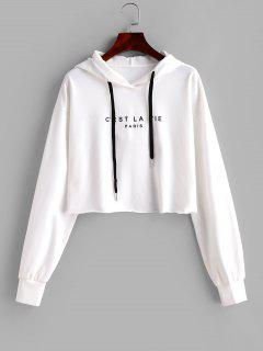 ZAFUL Jahrestags Plus Size Plus Größe Grafik Pullover - Weiß S