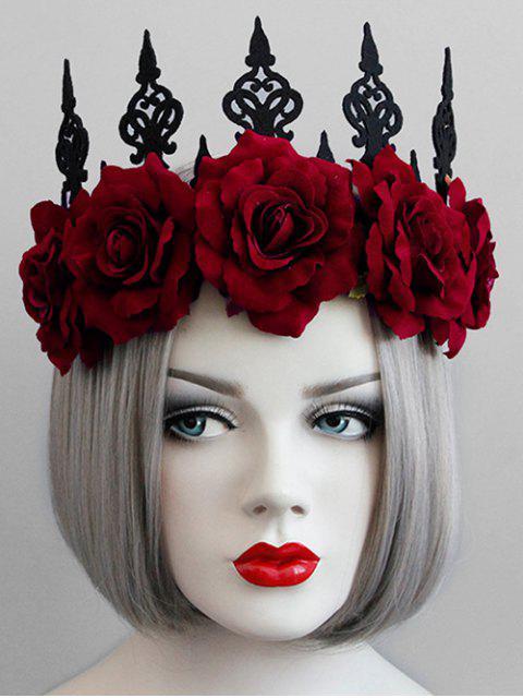 Повязка на голову с изображением королевы короны на Хэллоуин - Чёрный  Mobile
