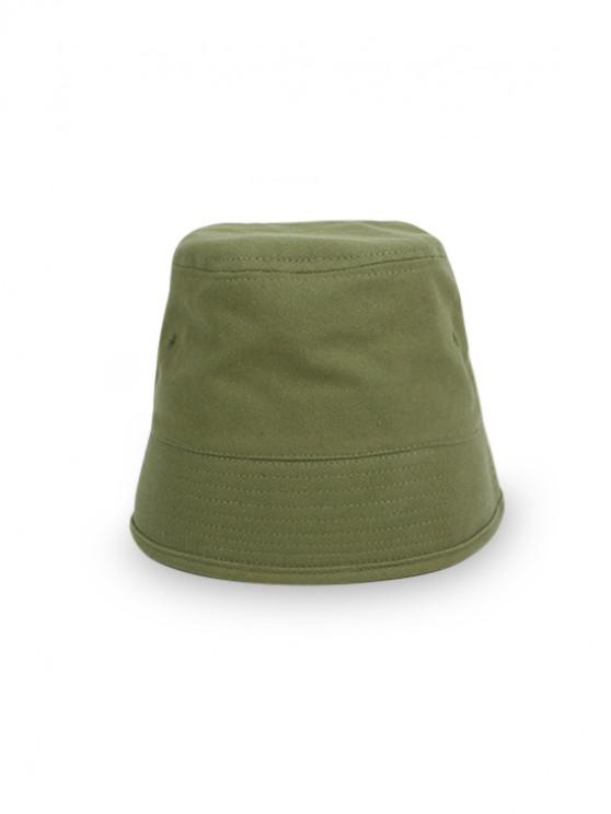 online Japanese Style Fisherman Retro Outdoor Bucket Hat - CAMOUFLAGE GREEN