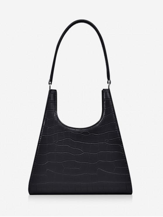 shop Animal Embossed OL Sling Bag - BLACK