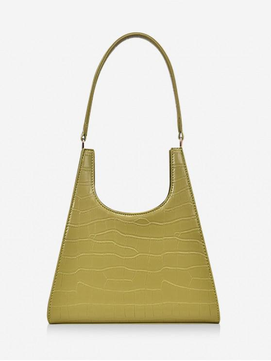 Bolso de honda OL en relieve animal - Verde Amarillo