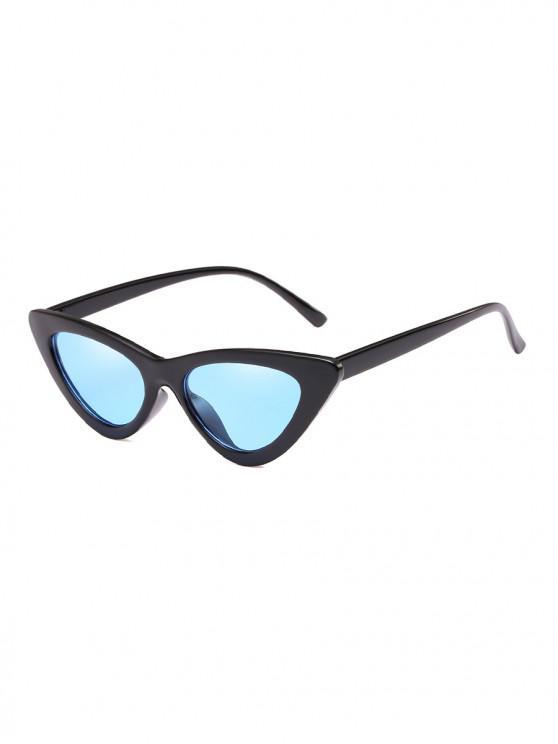 women's Unisex Triangle UV Resistant Outdoor Stylish Sunglasses - LIGHT SKY BLUE