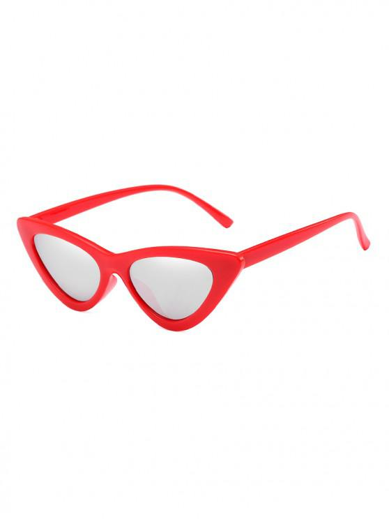 outfit Unisex Triangle UV Resistant Outdoor Stylish Sunglasses - PLATINUM