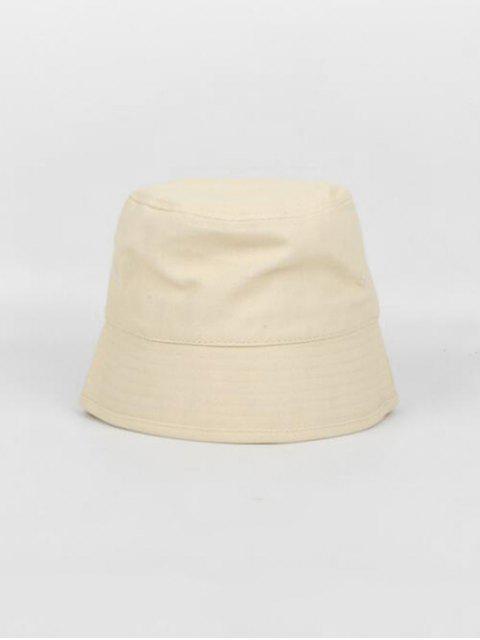 online Japanese Style Fisherman Retro Outdoor Bucket Hat - BEIGE  Mobile