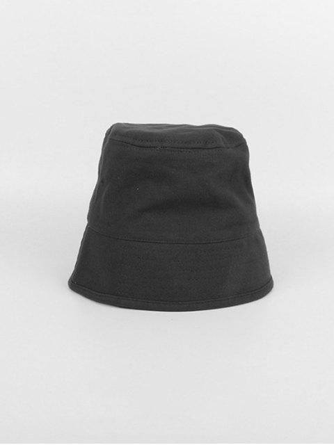 Chapeau Seau de Pêcheur Rétro pour Extérieur Style Japonais - Noir  Mobile