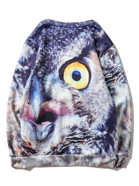 Sudadera Lana Estampado Águila - Multicolor XS Mobile