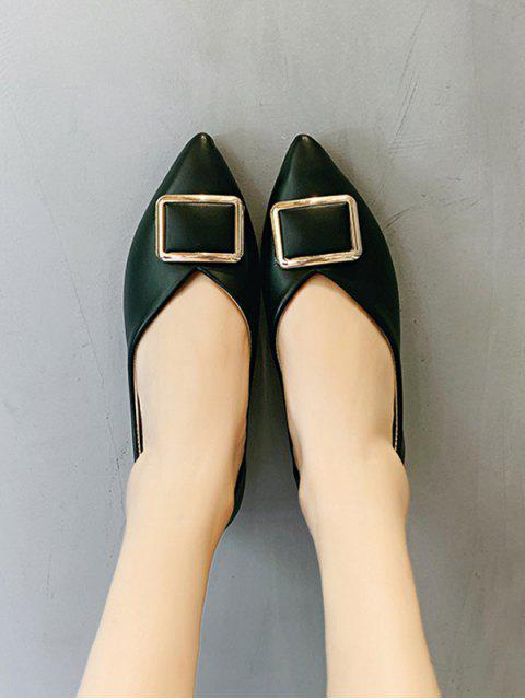 Бархатные туфли - Чёрный ЕС 40 Mobile