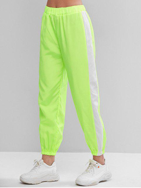 Alto contraste con cintura de neón del basculador de pantalones - Monasterio L Mobile
