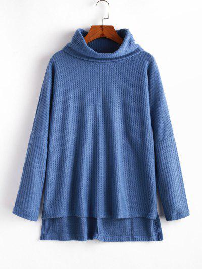 Maglione Asimmetrico - Blu L