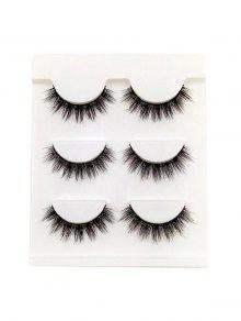 مجموعة مكياج رموش العين - أسود