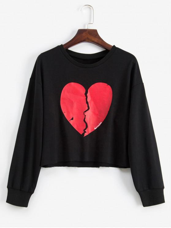 I Love Heart Bhutan Black Sweatshirt