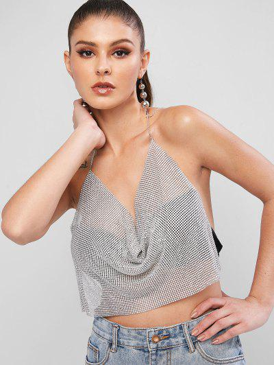 Rhinestone Halter Beach Top - from $16.44