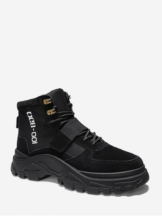 Zapatos de carga de carta con gancho gráfico al aire libre - Negro EU 39
