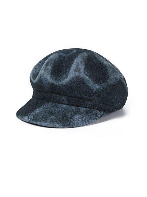 unique Peaked Unisex Stylish Beret Hat - BLUE GRAY  Mobile