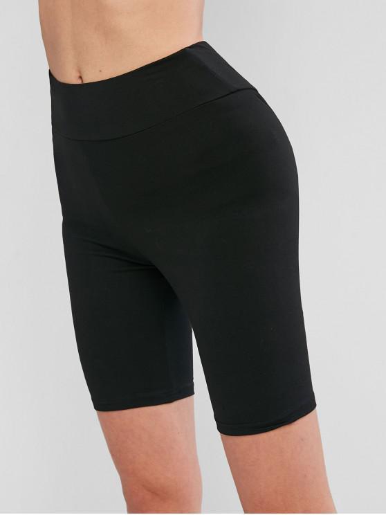 Shorts básicos de bicicleta - Negro L