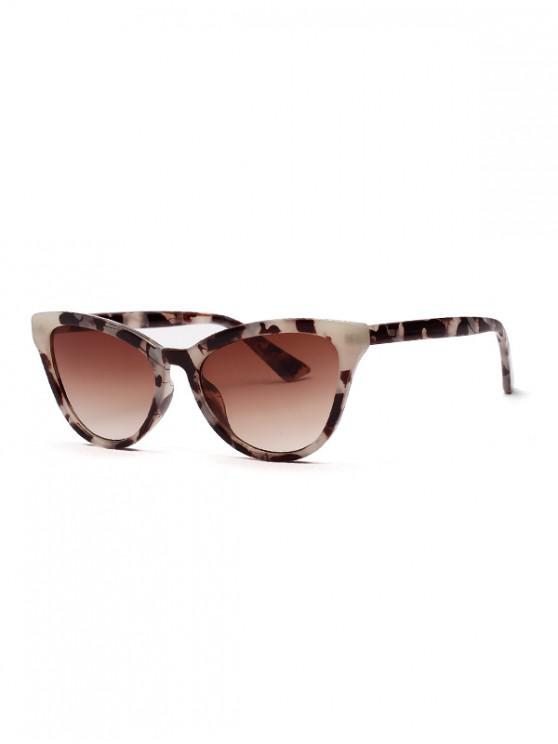 lady Outdoors Simple Vintage Driving Sunglasses - LEOPARD