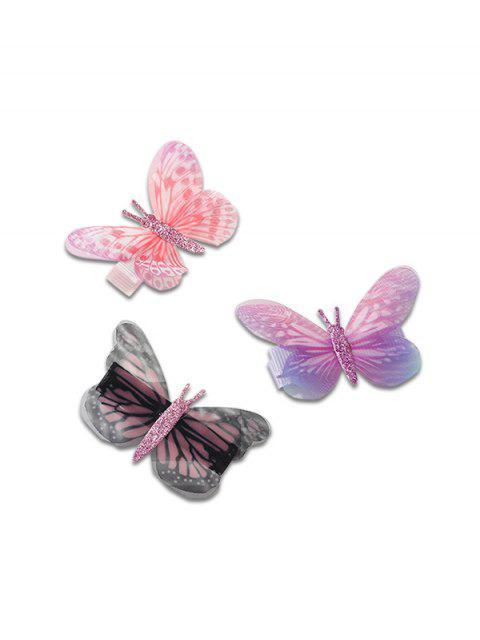 Ensemble d'Epingle à Cheveux Elégant Papillon Design - Multi  Mobile