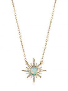 Simple Zircon Pendant Necklace