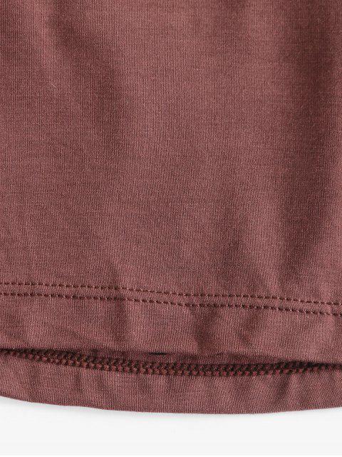 Enjaulado con tiras acolchadas Cami - Marrón Oscuro Talla única Mobile