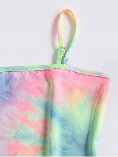 Robe Moulante Teintée à Bretelle - Multi S Mobile