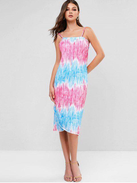 Tie Dye Convertible Vestido Envelope - Multi Um Tamanho Mobile