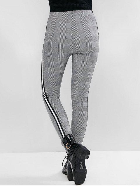 千鳥格的帶側緊身褲 - 多-A M Mobile