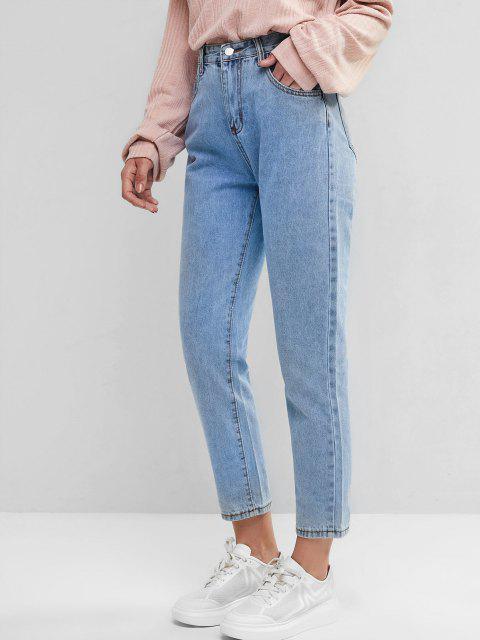 Grund Mom Jeans - Blau M Mobile
