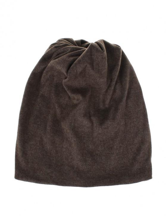 online Casual Elastic Multifunction Scarf Hat - COFFEE